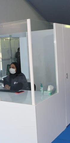 Covid-19 : Voici comment va fonctionner le Smart Vaccinodrome Intégré situé à Nouaceur